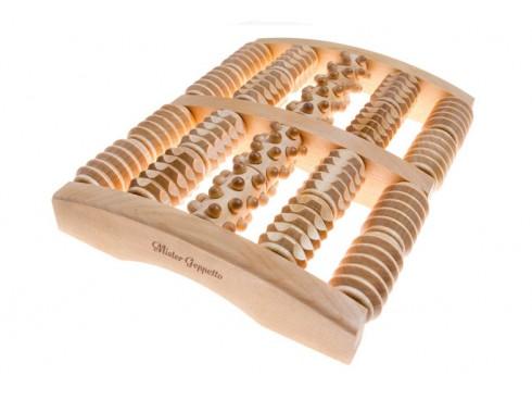 Holz-Fuß-Massagegerät
